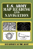 BK172 Book U.S. Army Map Reading and Navigation