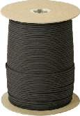 RG101S Parachute Cord Black 1000ft