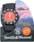 SWW455F S&W FIREFIGHTER WATCH RED FACE