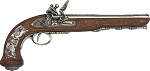 DX1084NQ Denix 1810 French Flintlock Pistol Replica