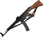 DX1125C STG 44 with Sling Replica