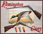 TSN1002 Tin Sign Remington