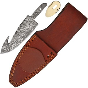BLSODMB2 Damascus Guthook With Sheath