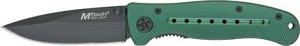 M3252 MTECH FOLDER GREEN HANDLE BLACK BLADE